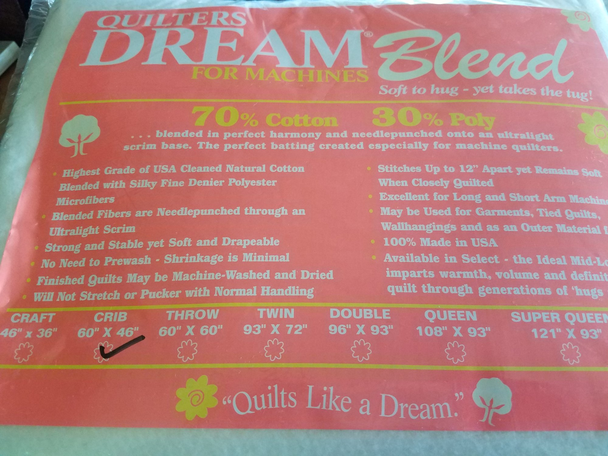 Dream Blend 70/30 Crib