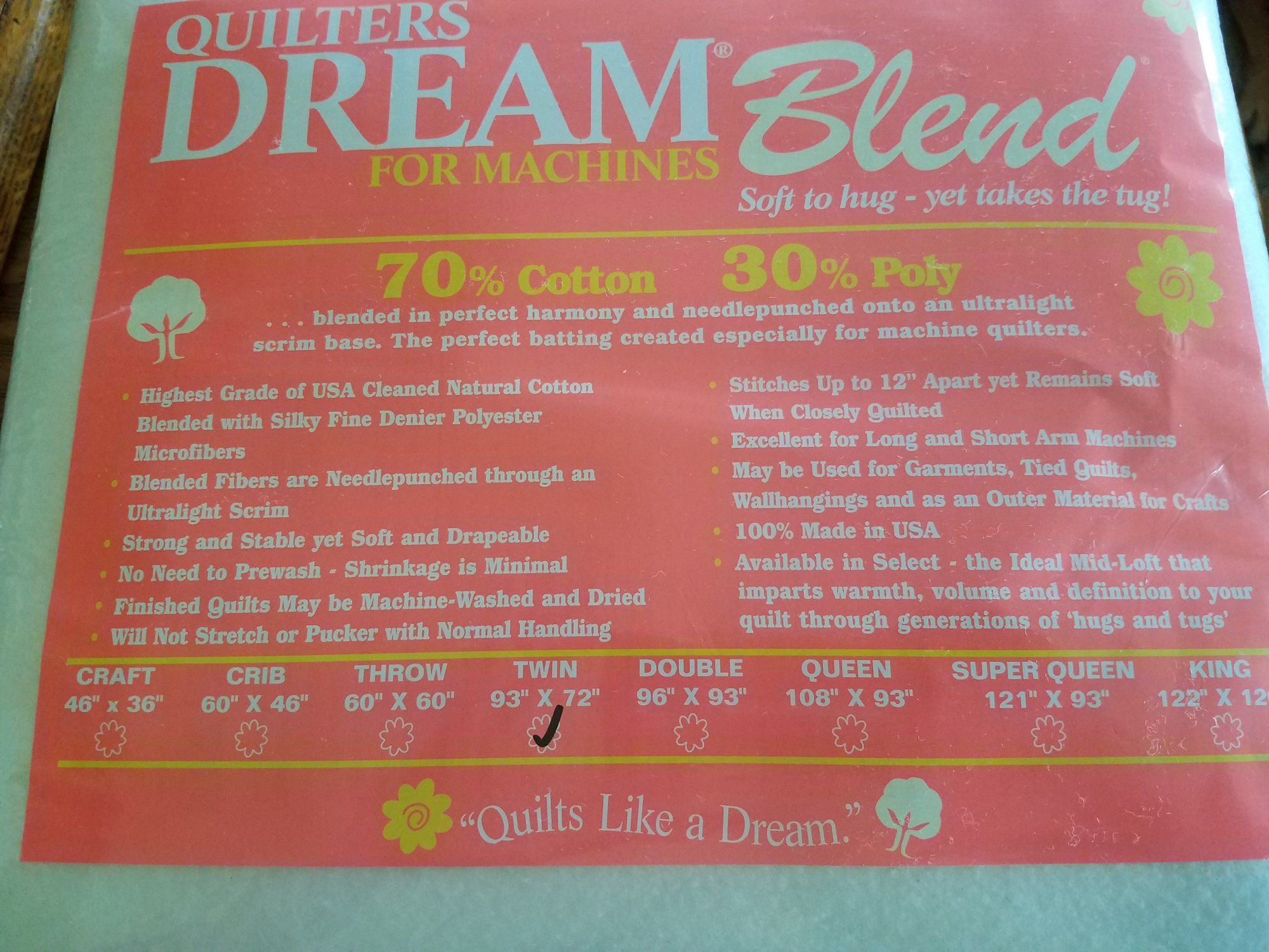 Dream Blend 70/30 Twin