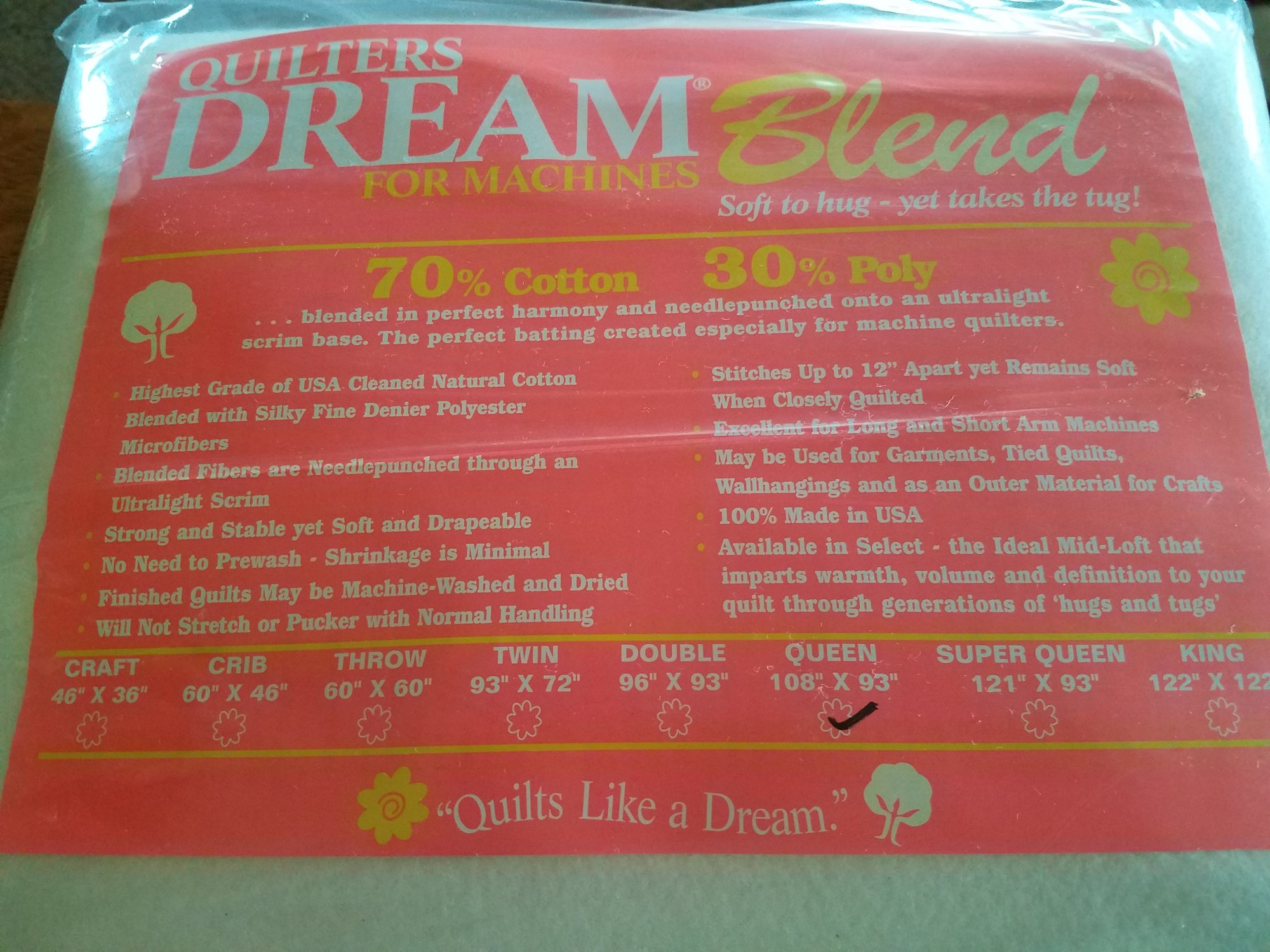 Dream Blend 70/30 Queen