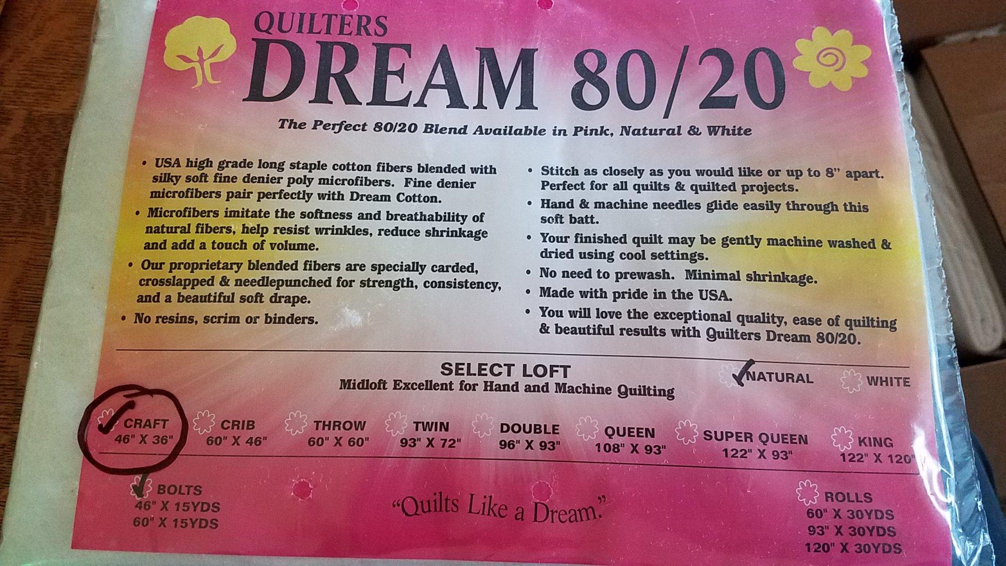 Dream 80/20 Craft