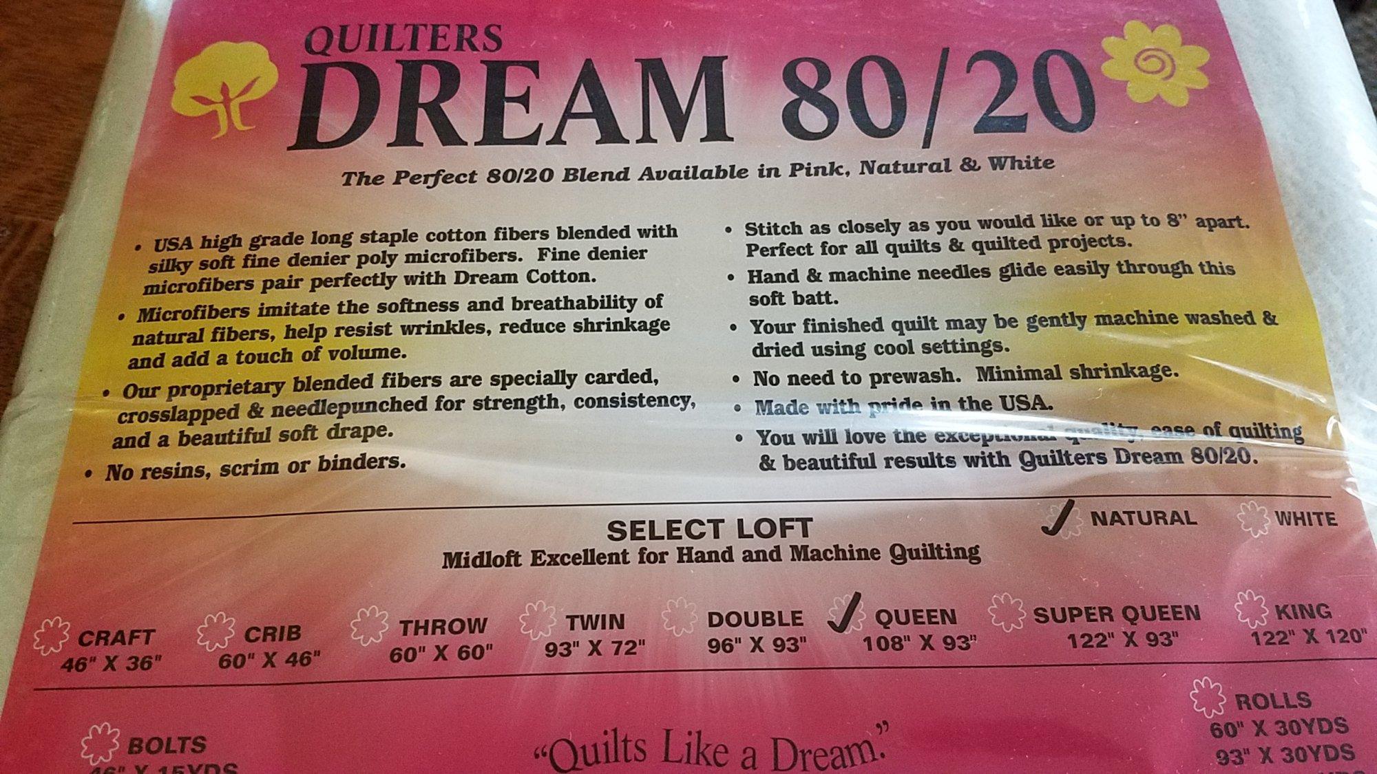 Dream 80/20 Queen