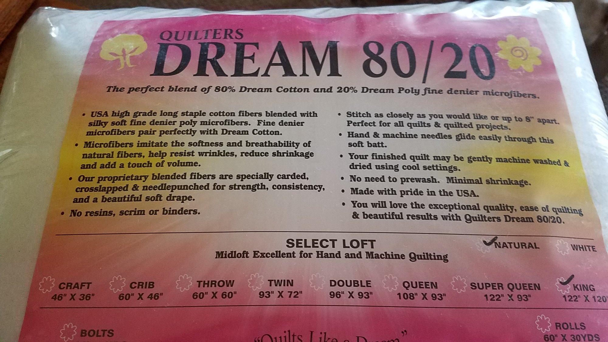 Dream 80/20 King