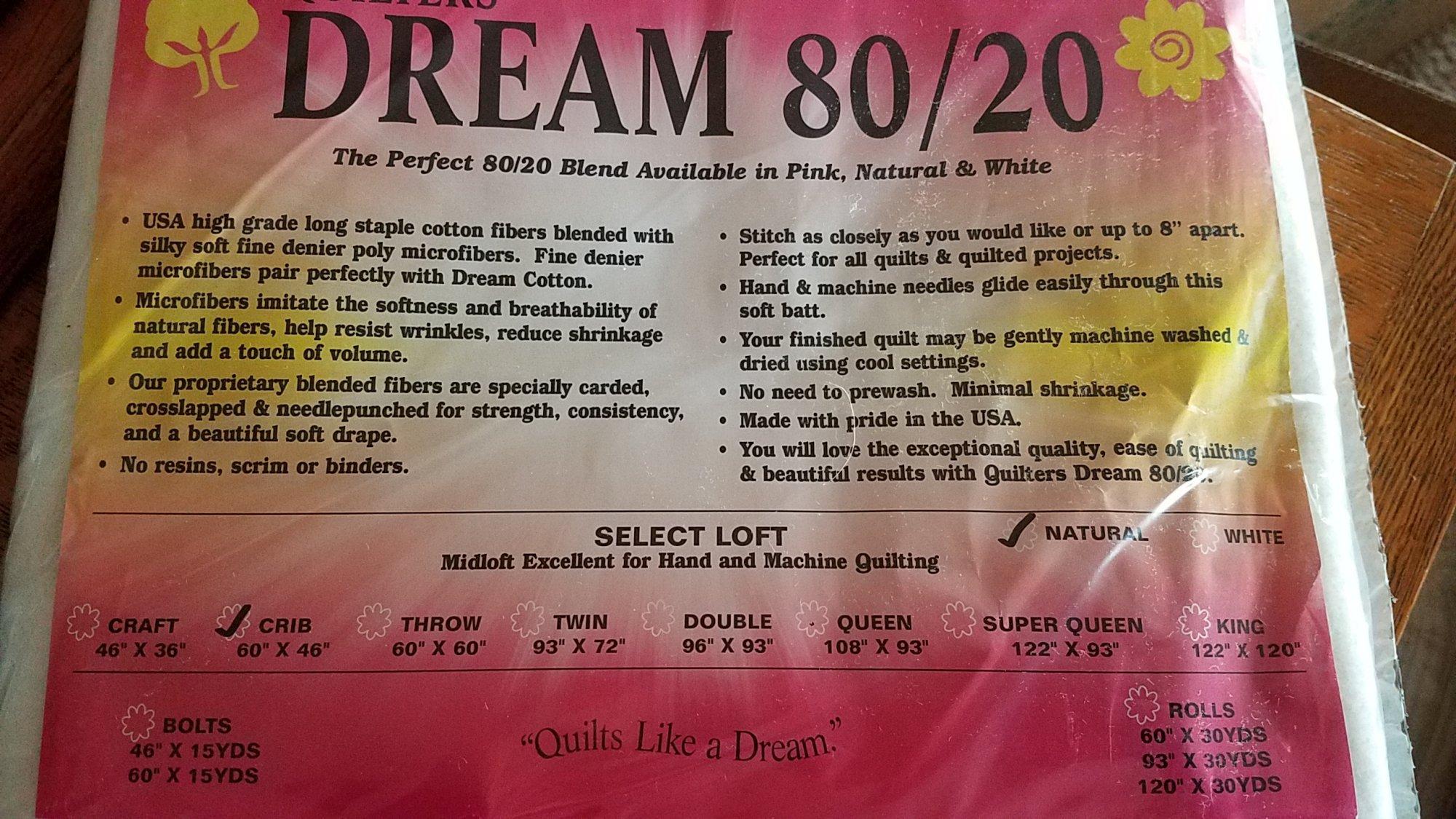 Dream 80/20 Crib