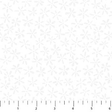 22137 10 Simply Neutral White on White Star Flwr