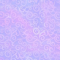 FQ 24174 L Ombre Scroll Lilac