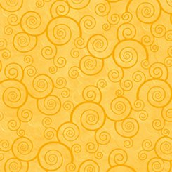 FQ24778 S Curly Scroll Sunflower