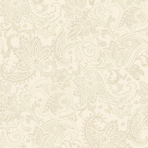 2651-07 Tonal Paisley Cream