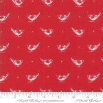 FQ 2950 11 My Redwork Garden Red w/cream birds