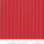 .58 yd 2965 12 Country Christmas Cardinal Stripe