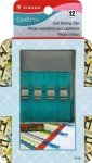QuiltPro Quilt Binding Clips in Decorative Tin 12ct