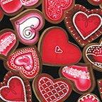 4910G12B Sweet Hearts Blk
