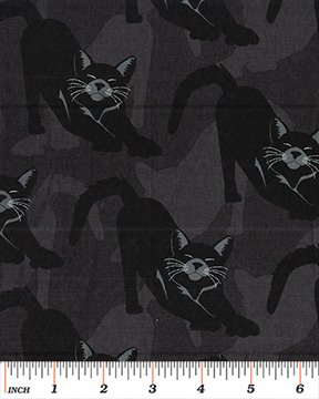 3 Yd Bundle Halloween Cat
