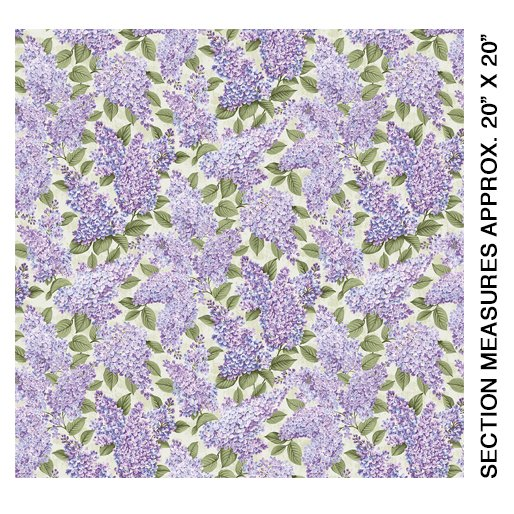 5480-40 Lilacs in Bloom Sage