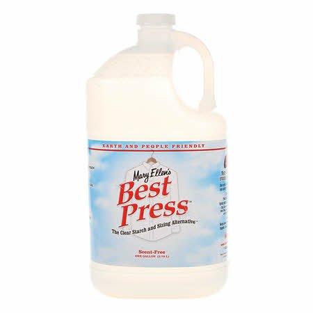 Best Press Spray Starch Scent Free Gallon Refill Size *