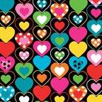0659099B Heart Felt blk/mult