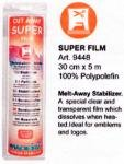 Super Film Cut Away Stabilizer