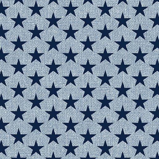 967 52 Med Stars Lght Blu/Navy