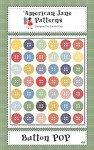 Button Pop Quilt Kit/no background or binding