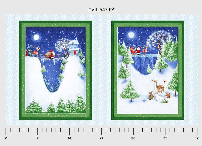 PNL CV547 PA Santa Panel