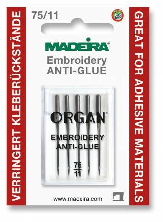 Madiera Anti Glue Needle Titanium Embroidery