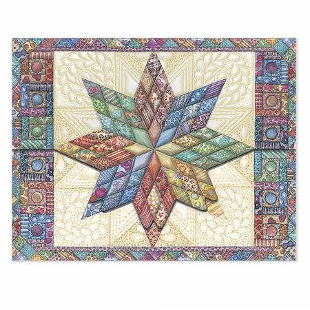 Note Cards Quilted Star (10)