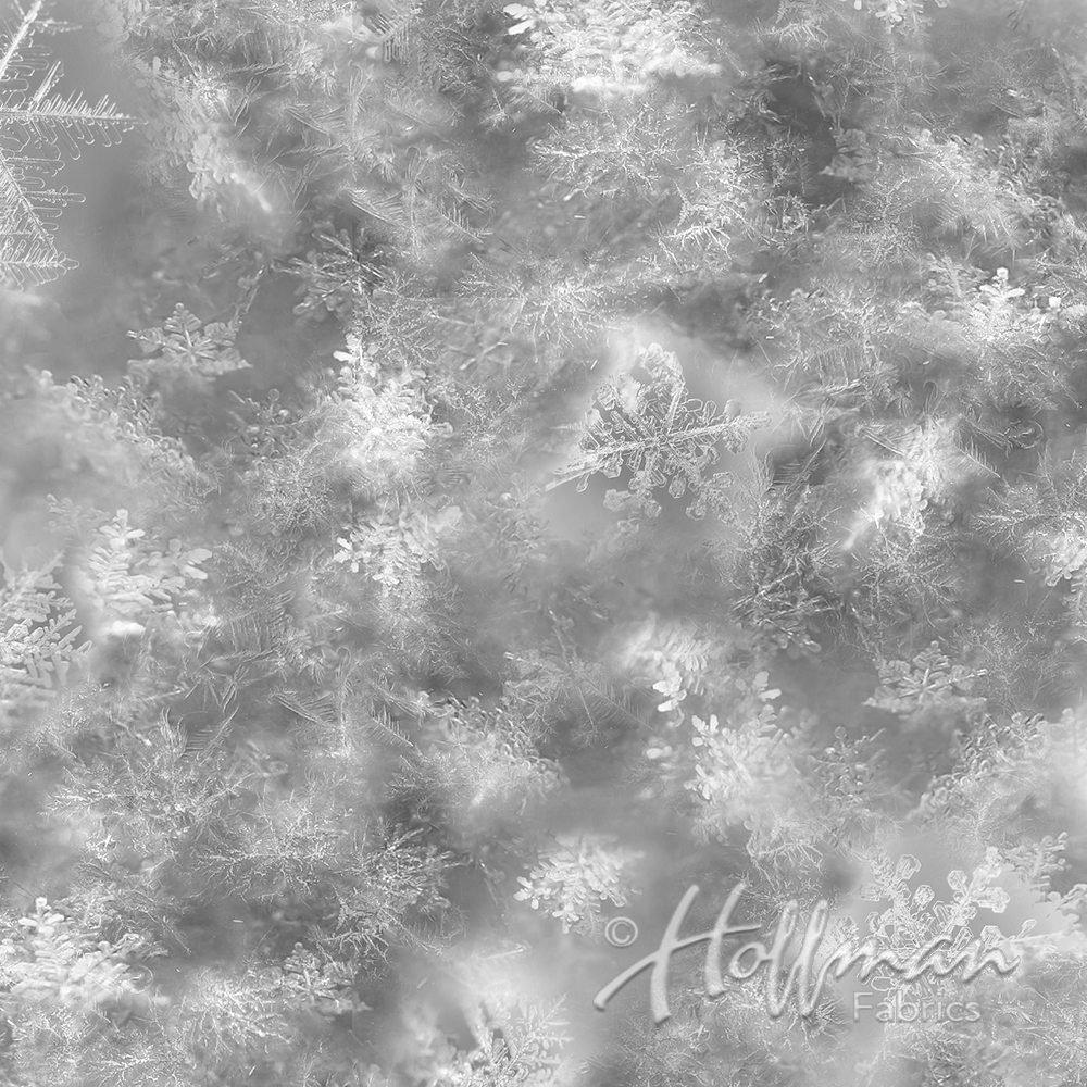Q4458-48 Gray Snowflake