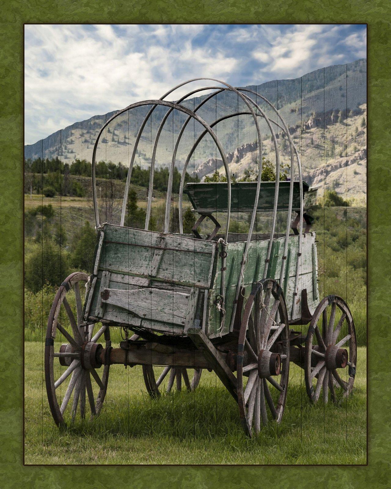 WFR008 Old West Wagon