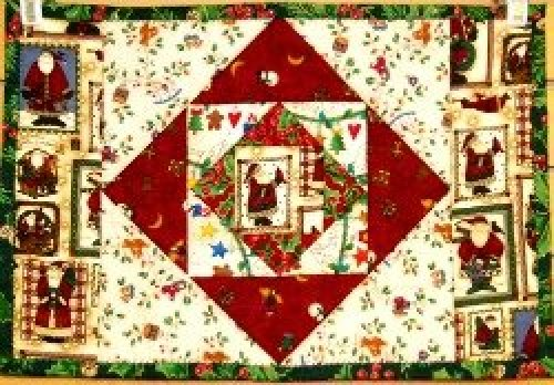 Everything Christmas Quilt As You Go Placemats
