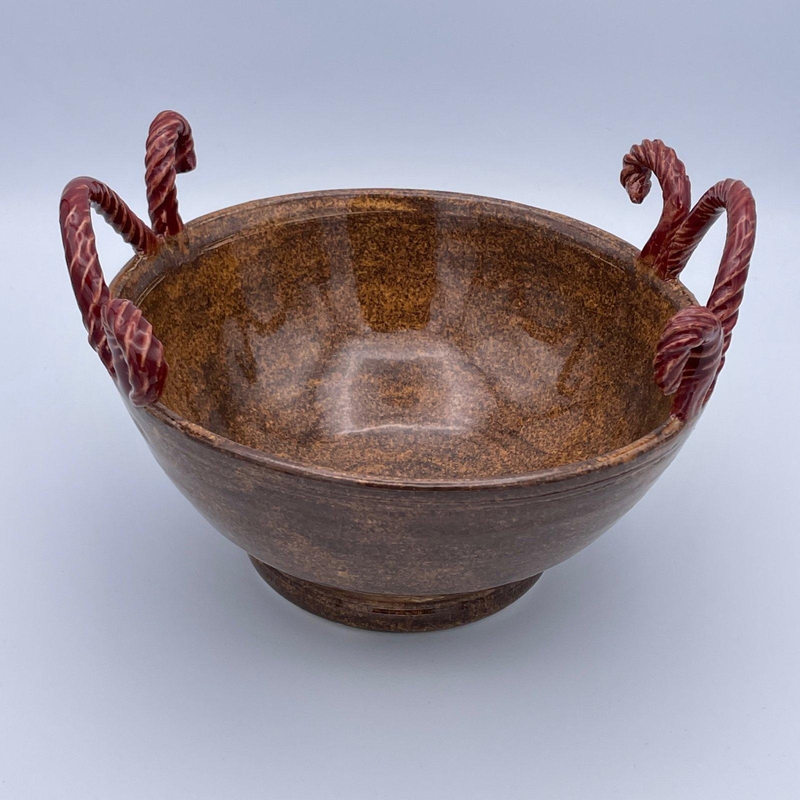 Yarn Pottery - Rope Handle Bowl - Amy Fox Designs