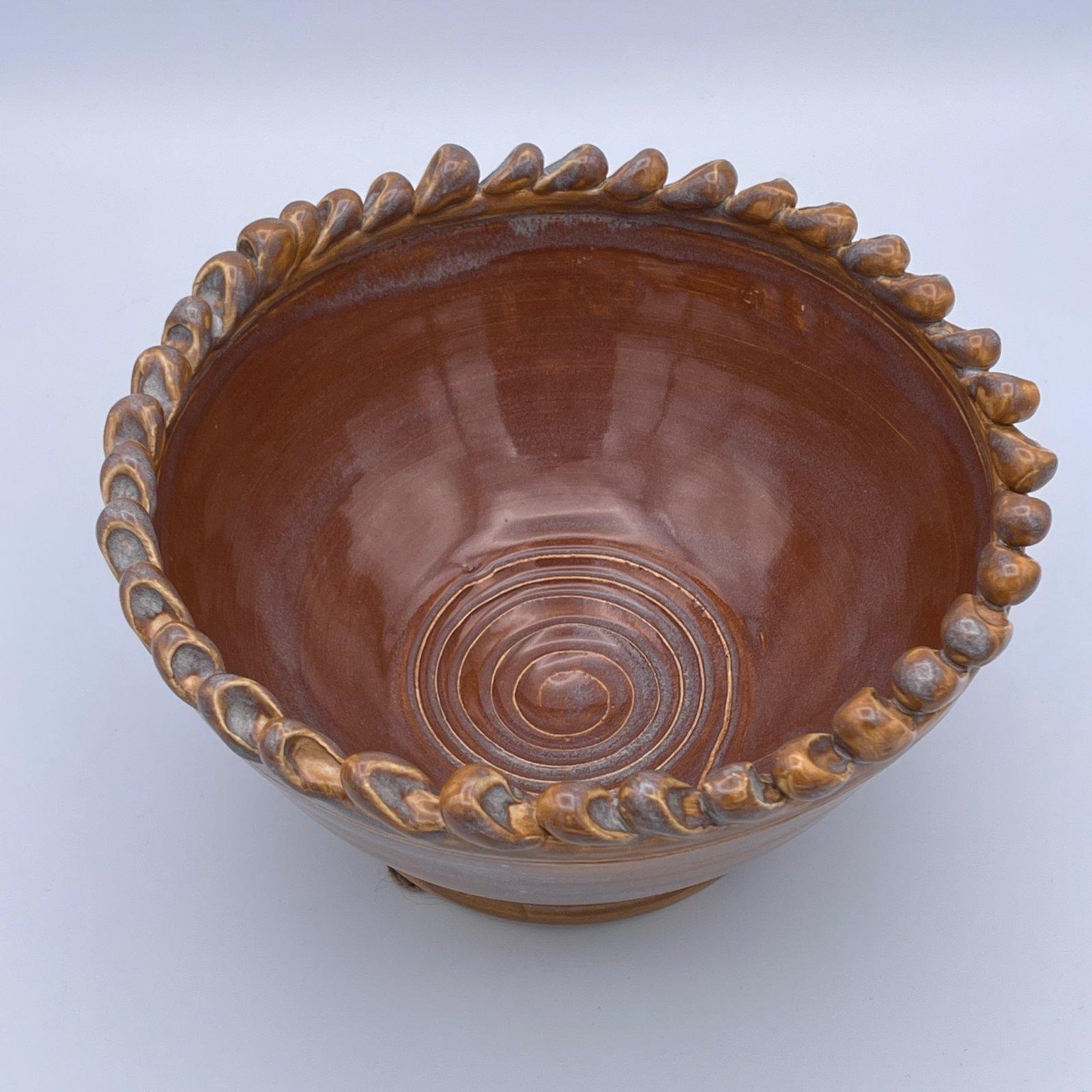 Yarn Pottery - Picot Bowl - Amy Fox Designs