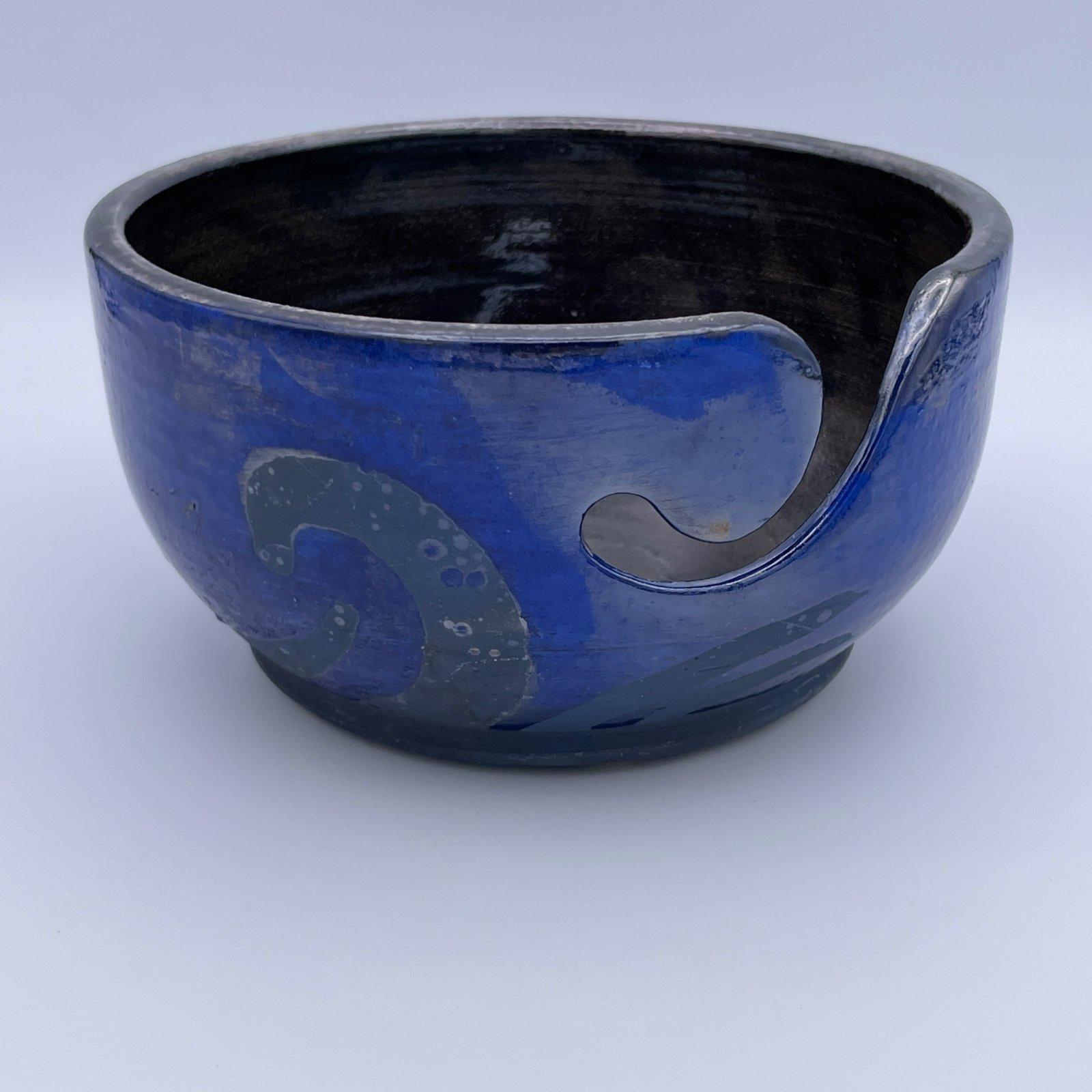 LickinFlames - Handcrafted Yarn Bowl - Medium
