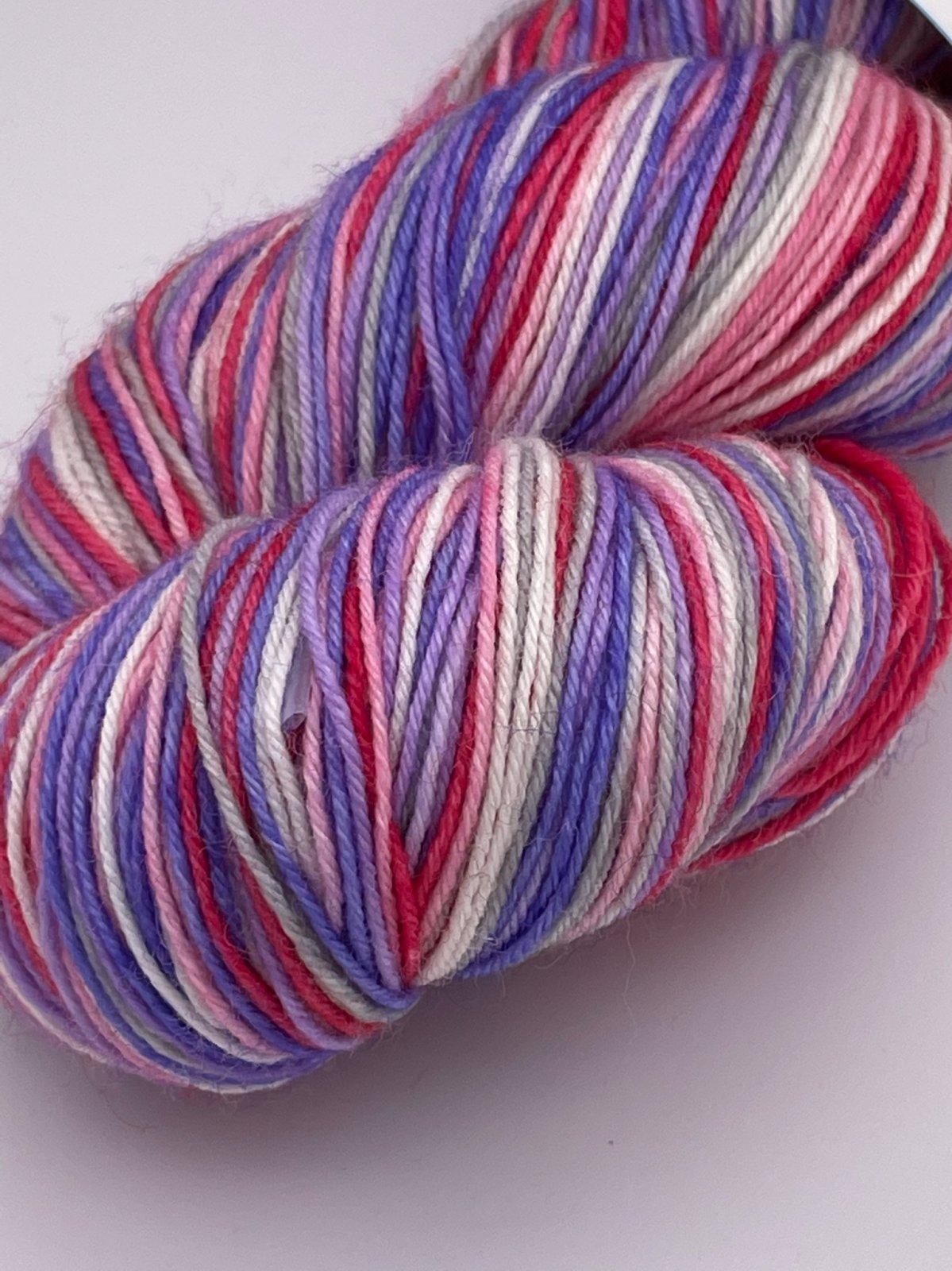 LunaPurl Self-Striping Sock