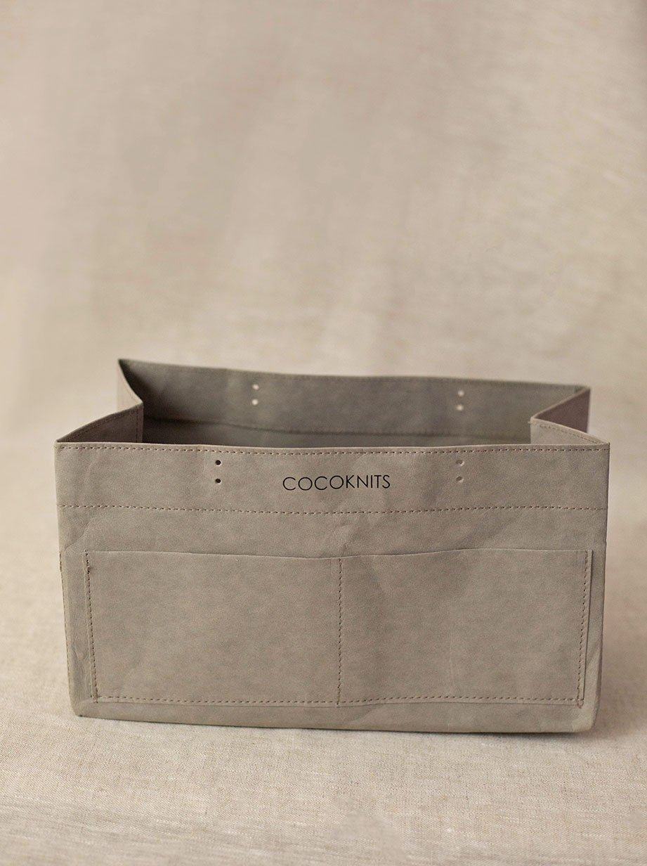 Cocoknits Kraft Caddy and Handle Kit (sold separately)