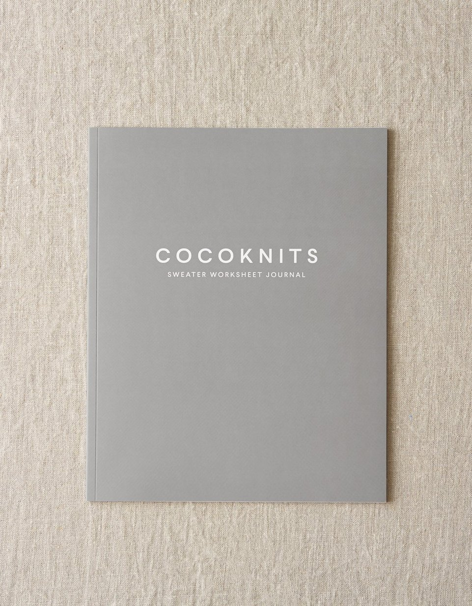Cocoknits Sweater Worksheet Journal