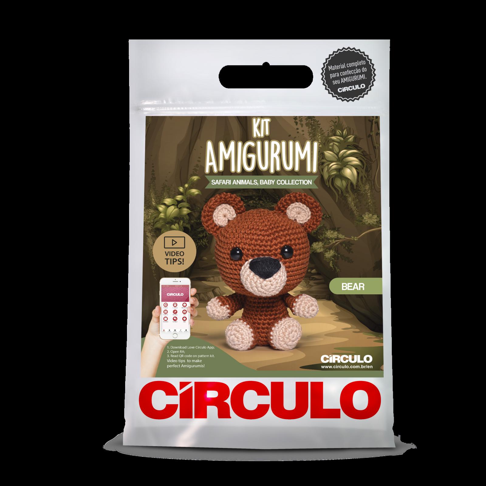 Safari Animal Amigurumi Kit