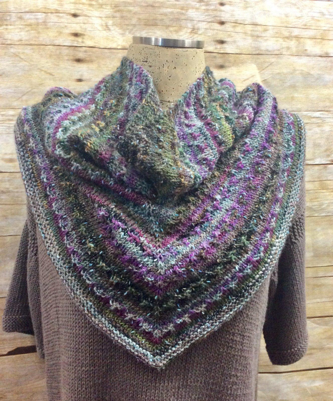 Reba Cowl Kit Violet/Natural