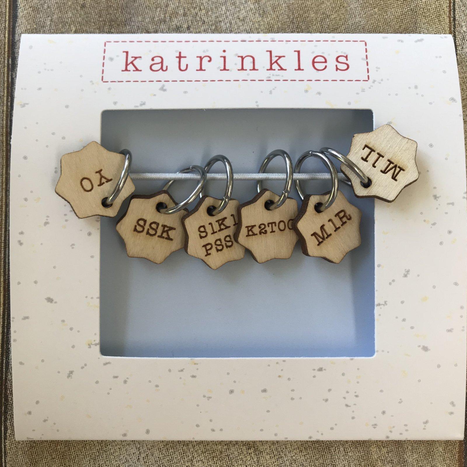 Katrinkles Stitch Markers