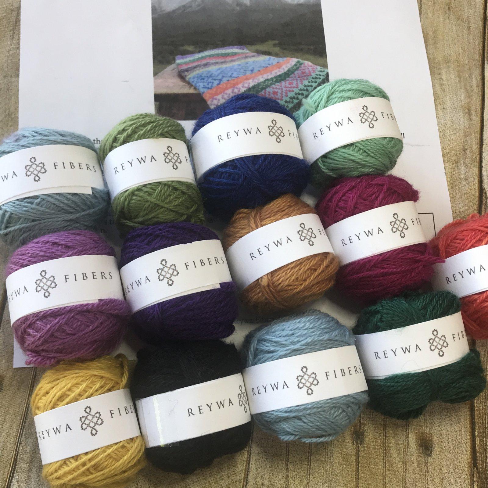 Colors of Reywa Cowl Kit
