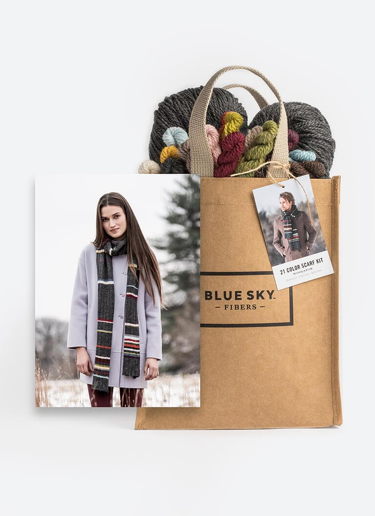 21 Color Scarf Kit