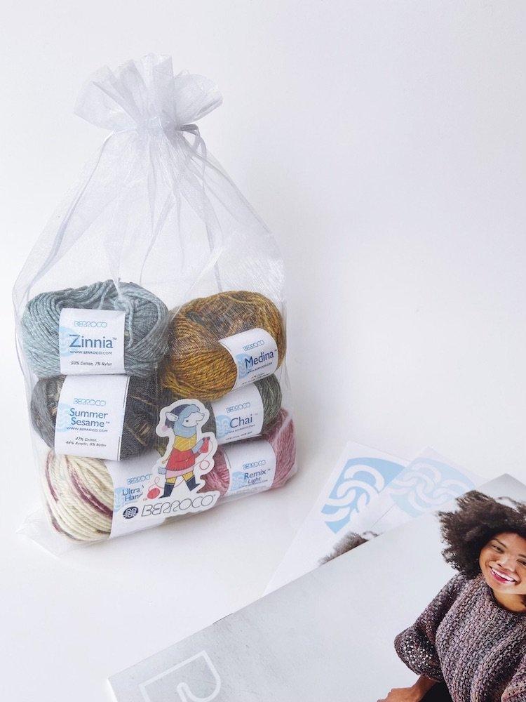 Berroco Spring Home Yarn Tasting
