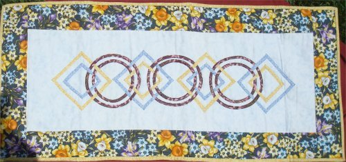 Celtic Circles Table Runner