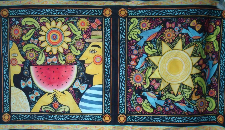 SUMMER PANEL BY JULIS PASHKIS AND IN THE BEGINNING FABRICS