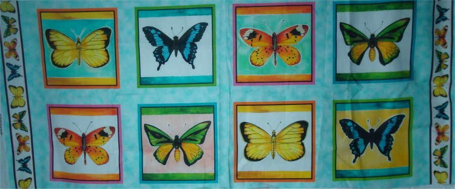 FLY FREE PANEL BY QUILTING TREASURES