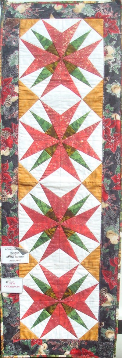 Royal Star Table Runner