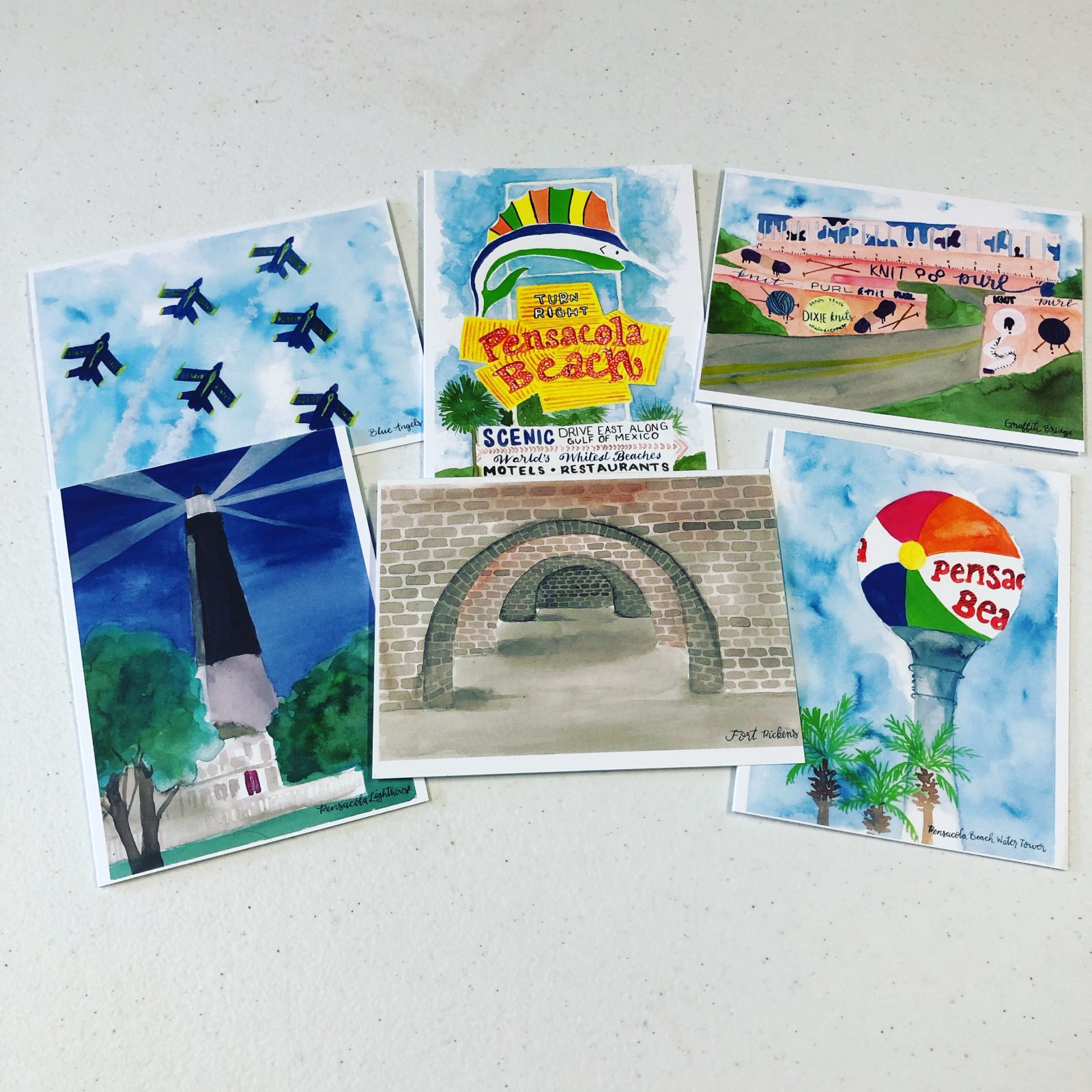 PENSACOLA CARDS