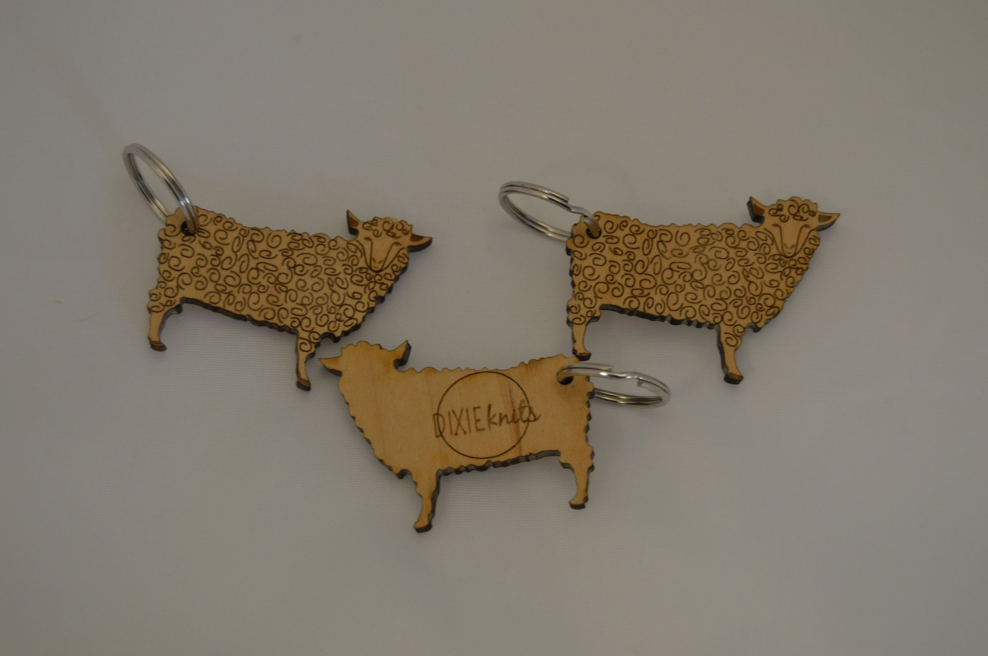 LOGO SHEEP KEYCHAIN