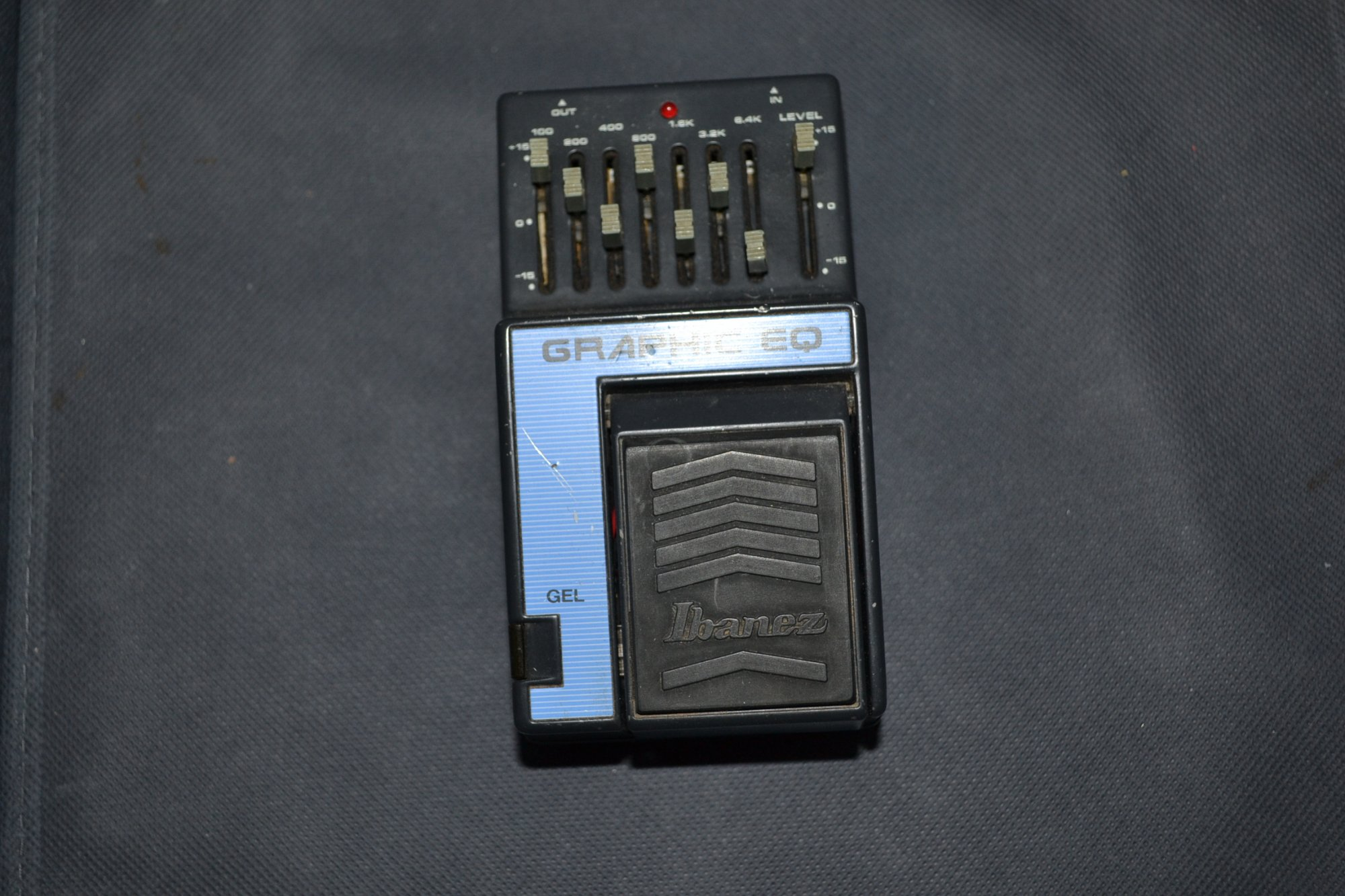Guitar Effects Pedal Ibanez Graphic EQ