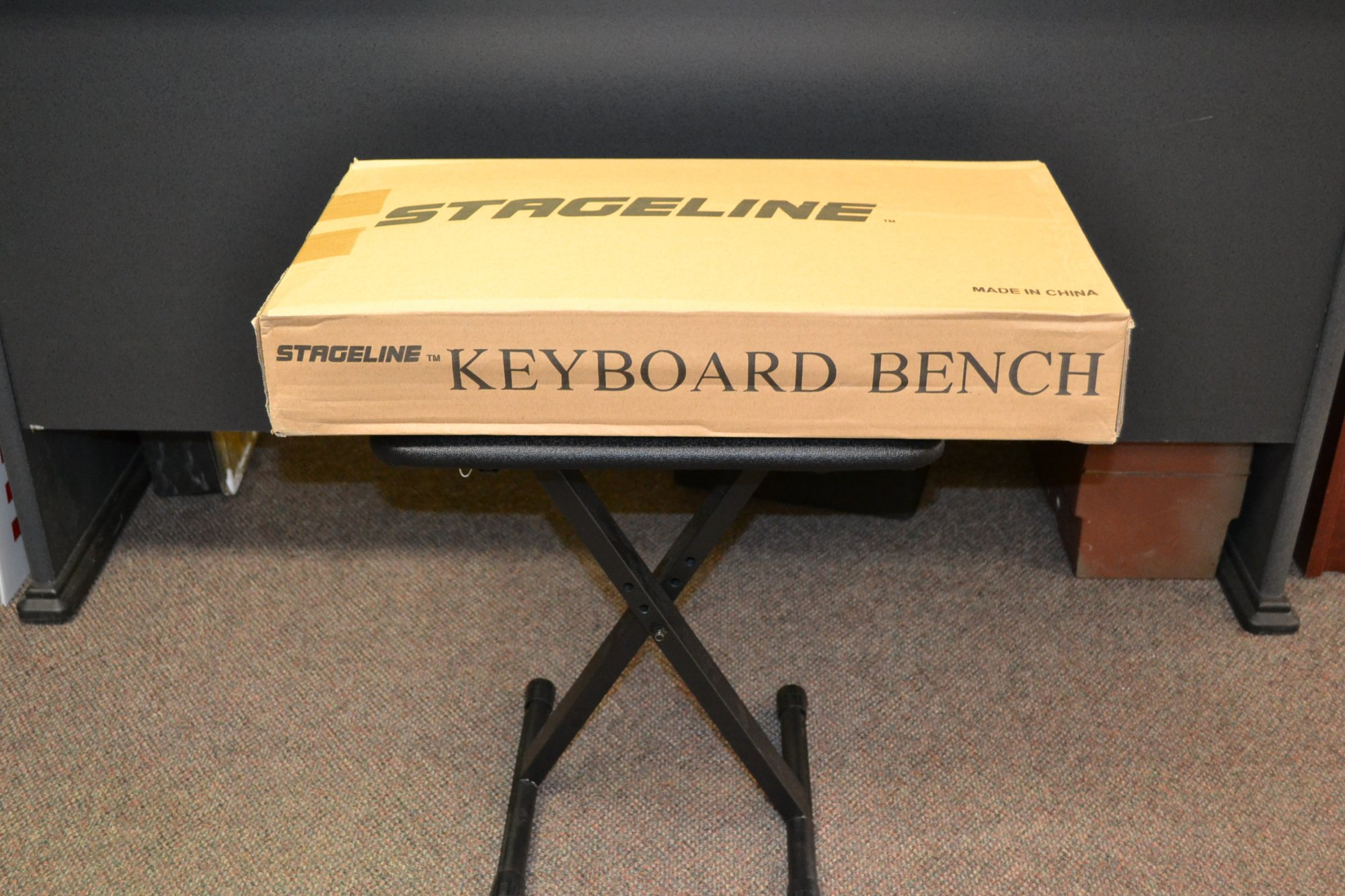 Keyboard Bench Seat Stageline