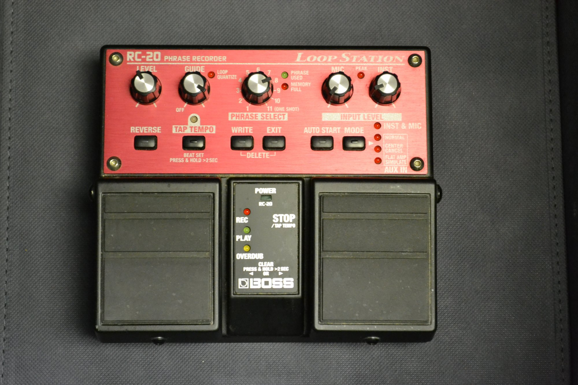 Guitar Effects Pedal Loop Station Boss