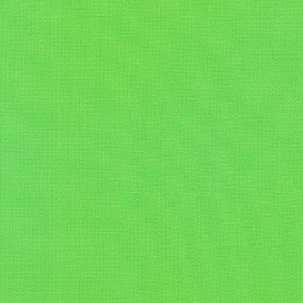 Kona Cotton Solid, Sour Apple